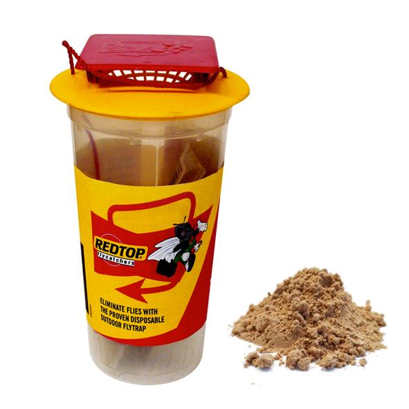 piège à mouches réutilisable red top