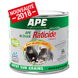 raticide ape le crock