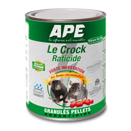 Raticide APE Le Crock - Granulés pellets