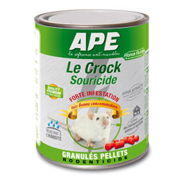 souricide crock ape