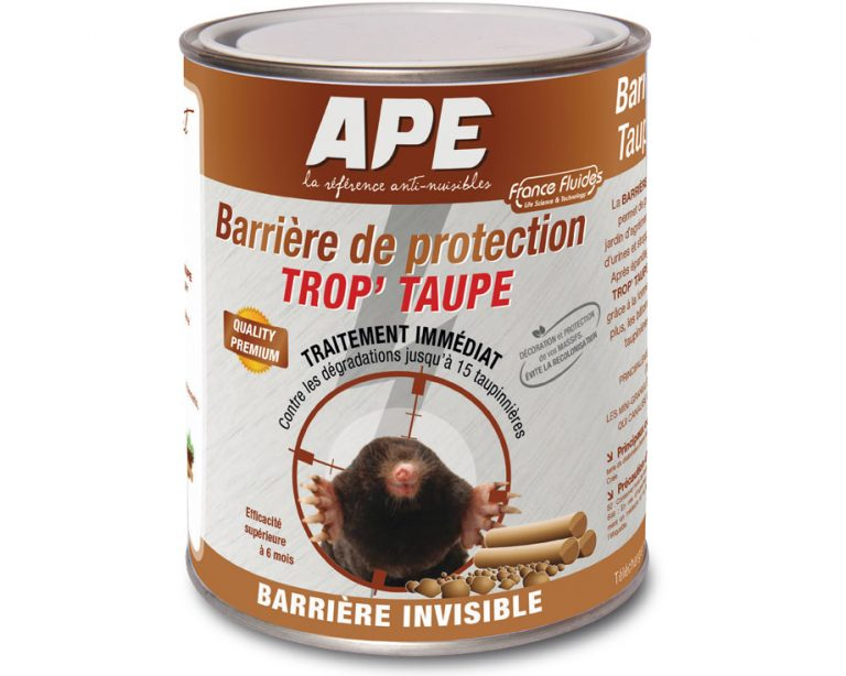 barrière de protection anti taupes