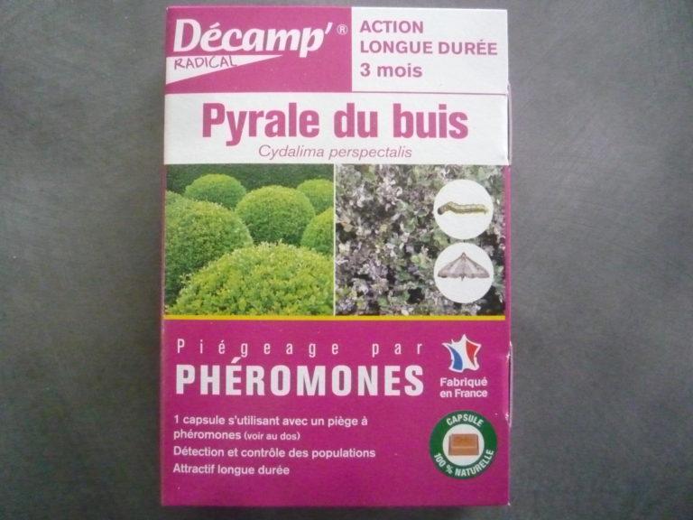 Phéromone pyrale du buis