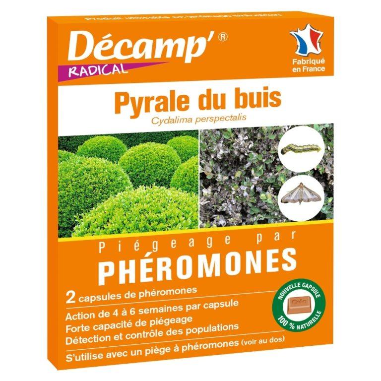 Phéromones pyrale du buis